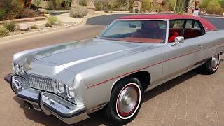 1973 chevy caprice convertible for sale on craigslist