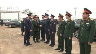 Bộ trưởng Bộ Quốc phòng Ngô Xuân Lịch làm việc với Bộ Tư lệnh Cảnh sát biển