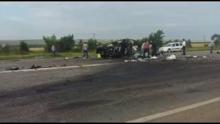 страшная авария на трассе Ставрополье 25.07.2017