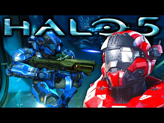 Halo 5 Multiplayer Map Fathom Footage Revealed | SegmentNext