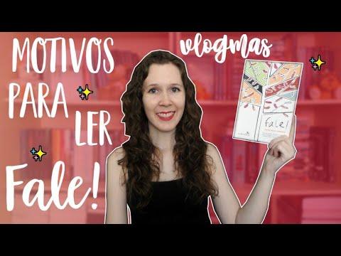 VLOGMAS #6 Motivos para ler Fale! | Leituras de Deni