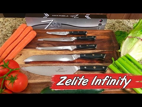 Zelite Infinity Japanese Knives – Product Review