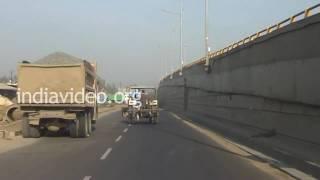 Highway to Vadodara City, Gujarat