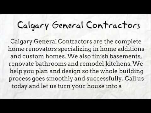 Calgary home renovations