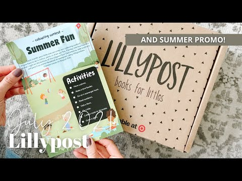 Lillypost Unboxing July 2021