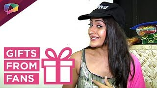 Surbhi Chandna Receives Birthday Gifts From Her Fans  Part-01