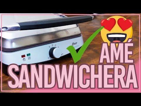 Sandwichera-Parrilla? UNBOXING La Amé! Definitivo