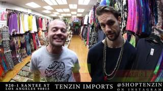 Tenzin Imports and Festival Essentials in Downtown LA