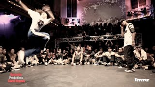 Judge Battle DEDSON vs KYOKA Hiphop Forever 2014