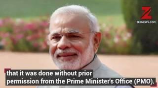 KVIC Calendar Row Narendra Modi`s Image Used Without Permission PMO Seeks Report
