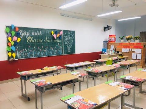 Buổi gặp mặt cha mẹ học sinh đầu năm học 2020-2021