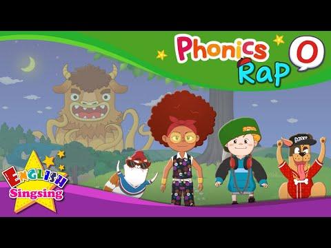 Phonics Rap O - English Rap - Educational video for Kids