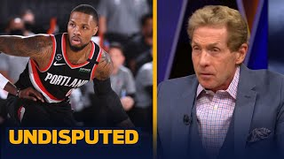 """Skip reacts to Dame's 61-pt game against Mavs — """"All-time great, but lucky"""" 