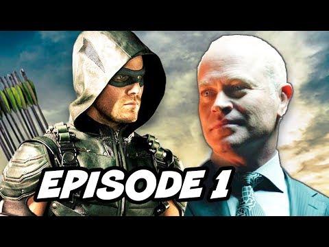 Arrow Season 4 Episode 1 - TOP 10 WTF and Easter Eggs