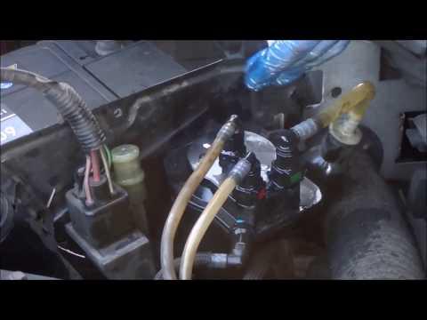 Cambiar filtro gasoil del coche
