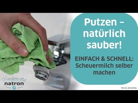 Scheuermilch selber herstellen