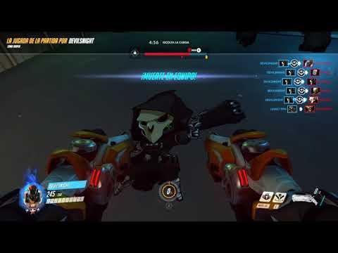 [Overwatch] Devilsnight - Reaper Highlight 1/9/17