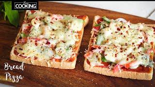 Bread Pizza | Quick And Easy Bread Pizza | Kids Snack Recipe