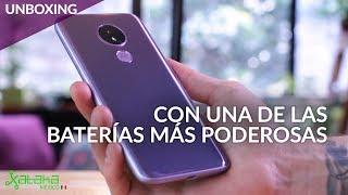Moto G7 Power, UNBOXING: El smartphone que puede durar hasta 2 días según Motorola