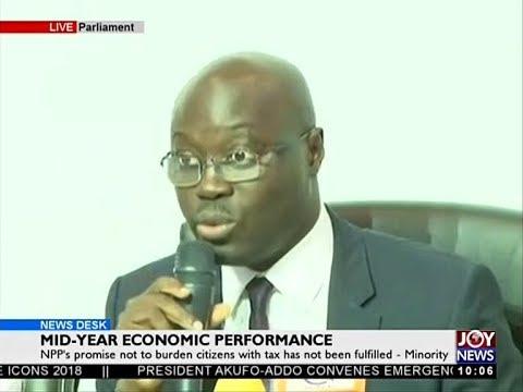 Mid-Year Economic Performance - News Desk on JoyNews (16-7-18)