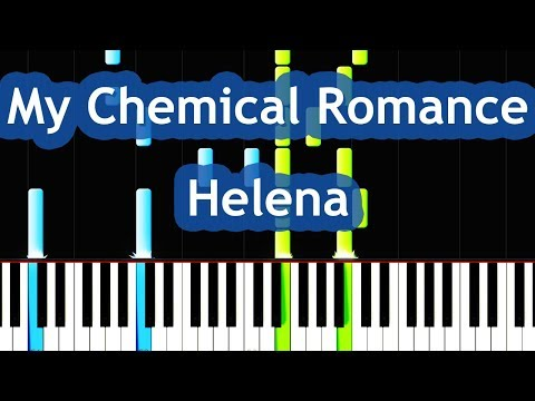 My Chemical Romance Early Sunsets Over Monroeville Piano Tutorial