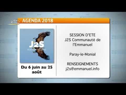 Agenda du 4 juin 2018