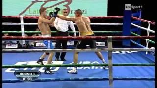 Антон Пинчук   Эмир Ахматович   Anton Pinchuk vs Emir Ahmatovic AIBA Pro Boxing 21 11 2014