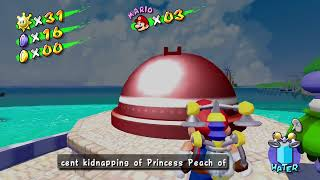 Super Mario Sunshine HD Episode 28 Shadow Mario In The Partk