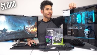 $1000 Gaming PC Build - RTX 2060 i5 9600K (w/ Benchmarks)