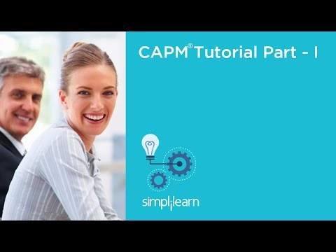 Introduction To CAPM® Certification Training | Simplilearn - YouTube