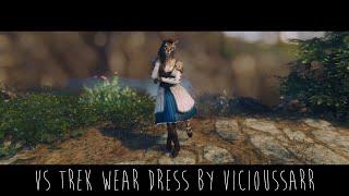 Skyrim Mod | VS Trek Wear Dress