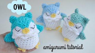 Owl Amigurumi Tutorial | Free Crochet Pattern | Ami Amour