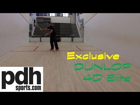 Dunlop Aerogel 4D Elite Squash Racket Review by PDHSports.com