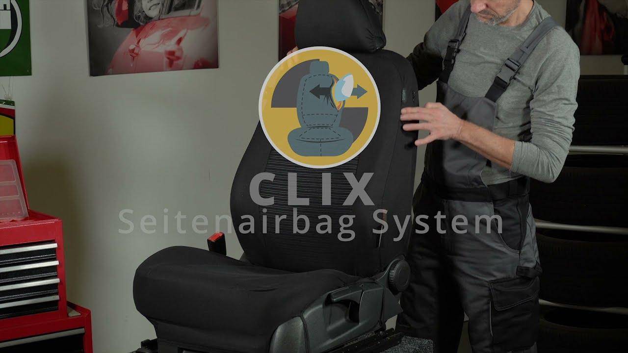 Vorschau: Passform Sitzbezug Bari für VW Passat Comfortline 08/2014-Heute, 2 Einzelsitzbezüge für Normalsitze