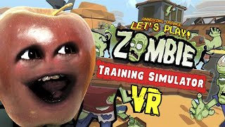 Midget Apple Plays   Zombie Training Simulator (VR) HTC Vive