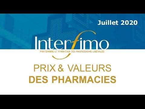 Prix et valeurs des pharmacies en 2019