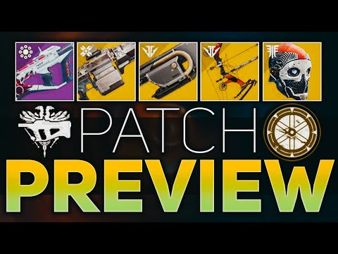 Recluse Nerf, One-Eyed Mask, & Xenophage Changes (Patch Preview + Quest Bug) | Destiny 2 Shadowkeep