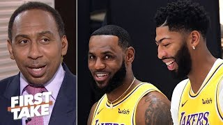 LeBron and AD won't lose to the Clippers, I have to see it to believe it - Stephen A. | First Take