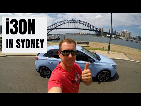24 Hours in Sydney with Hyundai's i30N
