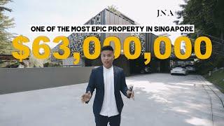 [Singapore Good Class Bungalow] Inside A MASSIVE $63 Million Relic Hunters GCB