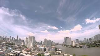 2015-06-20 Timelapse - Clouds & Chao Phraya, Bangkok