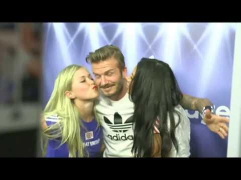 David Beckham PRANK FANS SAMPAI HISTERIS (видео)