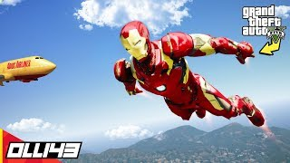 GTA 5  - Equipping the Avengers End Game Iron Man Suit!!