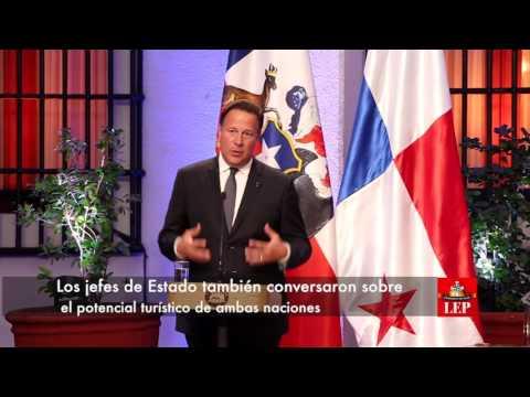 Panamá y Chile suscriben acuerdos