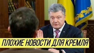 """Конфликт в Керченском проливе: Порошенко передал Путину """"две плохие новости"""""""