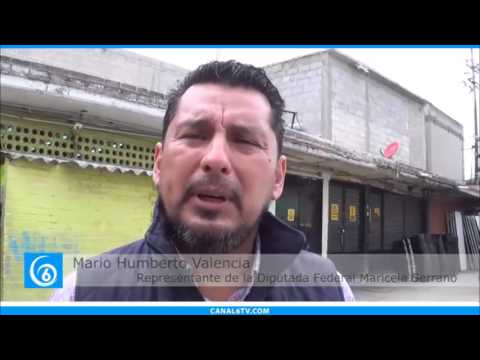Diputación federal entrega apoyos a locatarios del mercado Evolución por 37 aniversario