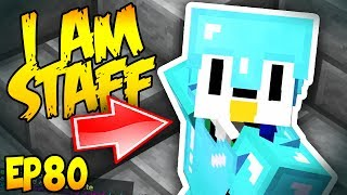 HACKER TROLLING WITH A STAFF ACCOUNT! Minecraft Hacker Trolling EP80