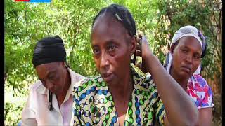 Family in Maraga in agony after granny was hit with a blunt object and strangled to death
