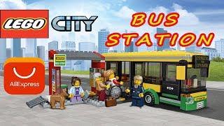 LEGO CITY 60154 🚌 АВТОБУСНАЯ ОСТАНОВКА с AliExpress / Распаковка