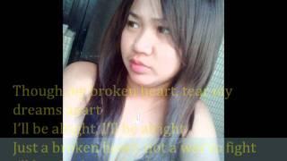 anggun c.shanty......I''II be alright